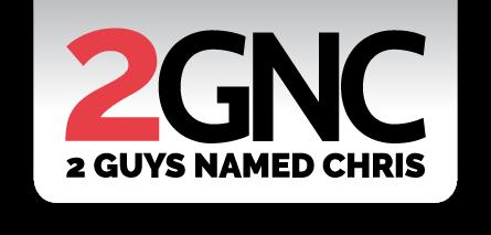 2 Guys Named Chris Logo